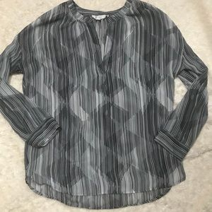 Vince Camuto sheer blouse